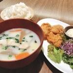 KEYUCA Deli - 【Weeklylunch】寒い季節は温か具沢山の豆乳汁セット