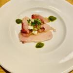 ビストリア 魚タリアン - ◆冷前菜 ブリのカルパッチョ