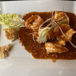 海鮮中華料理 呑 - 料理写真:海老チリ