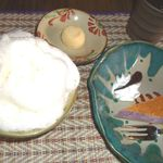 ぶくぶく - ぶくぶく茶と紫芋チーズケーキ