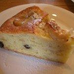 珈琲工房 あらびか - バナナのケーキ
