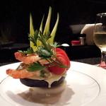 美食クラブ まさき家 - アボガドと海老の生クリームサラダ