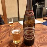 さわらや - ビール(大瓶)