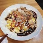 鉄板食道 飯蔵 - 豚平焼400
