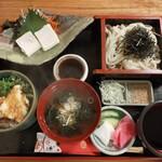 和食処清恵 - 料理写真:ゆば天丼膳