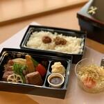 玉之湯 - 料理写真:【テイクアウト】プレミアム牛ステーキ弁当