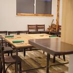 おのひづめ - テーブル席