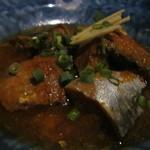 鹿田町 ムラサメ - さば煮韓国風