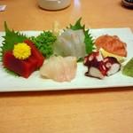 旬菜酒房 宝隆丸 - 刺身5種盛り