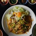 ワンステップ - 生姜焼き定食