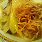 銀座アスター - 麺は柔らかめをチョイス