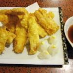 大漁 やまちゃん - 太刀魚天ぷら \1050