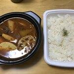 こうき屋 - 牛すじカレー(テイクアウト)