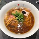 Japanese Soba Noodles 蔦 - 「醤油ラーメン」1200円