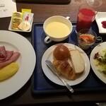 ノーザンテラスダイナー - 朝食(洋定食+ハーフバイキング)