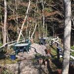 アルフォンソカフェ - 岬の先端部のテーブル席に着席しました。