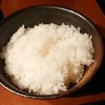 炭火焼肉 行天 - ご飯アップ