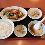 新三陽 - 料理写真:回鍋肉 ※本日のランチ