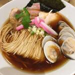 むぎとオリーブ - 蛤・鶏・煮干のトリプル 1000円
