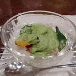 14504455 - 野菜と魚介類の和え物