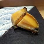 すし処 市柳 - 料理写真:蒸しアワビ