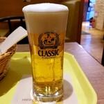 フレッシュネスバーガー - 生ビール 320円