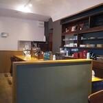 喫茶 アカリマチ - カウンター