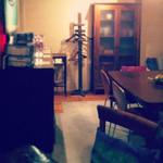 パチャカフェ - 大きなテーブルは、4名様がゆったり座れます。