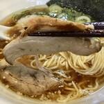 上海麺館 - 朝らーめん600円