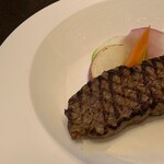 アンバーコート - (友達が選んだメイン)牛サーロイン ポン酢ソース