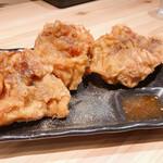 長浜豚骨ラーメン 一番軒 - 甘辛から揚げ