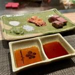 京風鉄板 はせ川 - いろいろな味で食べれる