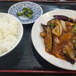 蘭蘭 - 麻婆茄子定食 780円 税込