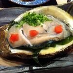 すし処 市柳 - 岩牡蠣この大きさになるとうまいですね~