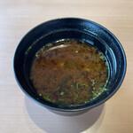 すし乾山 - お味噌汁