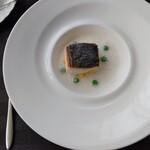 レストラン フィオーレ - メイン サワラのグリル