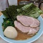 横浜ラーメン 武蔵家  - 料理写真:志木盛   並  ¥1000