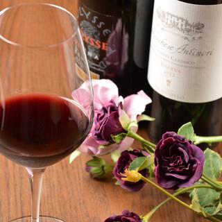 イタリアワインをボトル2,480円からご用意しております!