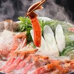 北の家族 - カニすき鍋