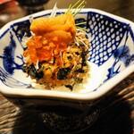 海鮮料理 雲丹しゃぶしゃぶ 工藤 - 雲丹のクリームコロッケ山葵タルタル