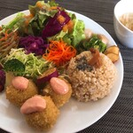 ナチュレルマン - 旬野菜プレート:1500円(税込み)