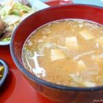 食堂SS - 2020年9月 納豆汁。初めてでした。関西では見たことないな~