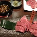 焼肉居酒家 韓の台所 - 上ロース様、適度な脂でロースファン万歳