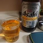 キッチンタロー - ビール ¥ 650  -
