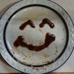 キッチンタロー - 皿ニコちゃん