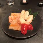 Yakinikuhorumommakumatsuoka - 特選マルチョウと特選ミノ。             美味し。