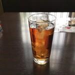 さかな道楽 - ウーロン茶