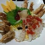 海陽亭 - もさ海老丼 1,760円