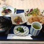 アーバンスクウェア - 飯南町産豚ロースの生姜焼き定食800円