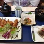 アーバンスクウェア - 大山鶏の唐揚げ定食800円